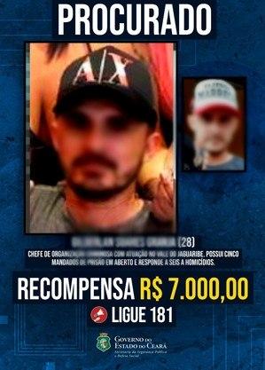 Homem era procurado por seis homicídios no Ceará