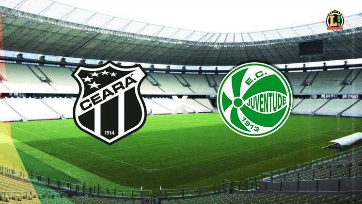 Ceará x Juventude - Estádio: Castelão - Dia 04/07/2021 - Horário: 18h15 - Transmissão: Premiere