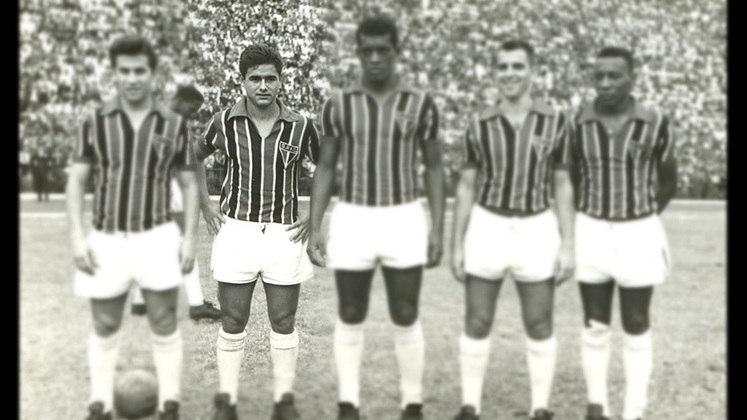 Cecílio Martínez - 43 jogos: O paraguaio vestiu a camisa são-paulina em 42 oportunidades. Venceu 25 vezes, empatou nove e perdeu oito. O ponta balançou as redes 17 vezes quando esteve no Tricolor paulista.