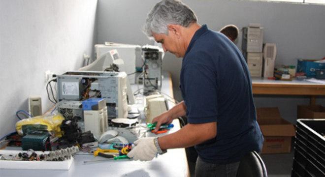 CEDIR- Centro de Descarte de Resíduos de Informática