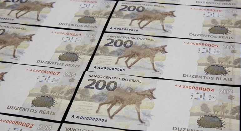 Cédula de R$ 200, lançada há um ano
