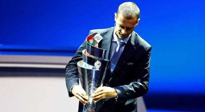 Alexsander Ceferin, o presidente da UEFA