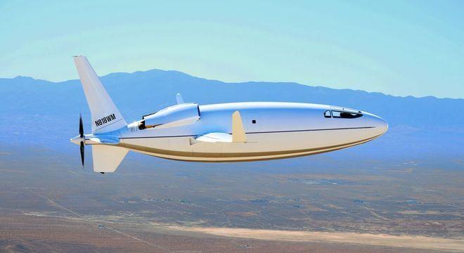 Avião mede cerca de 37 pés de comprimento e possui uma envergadura de 52 pés