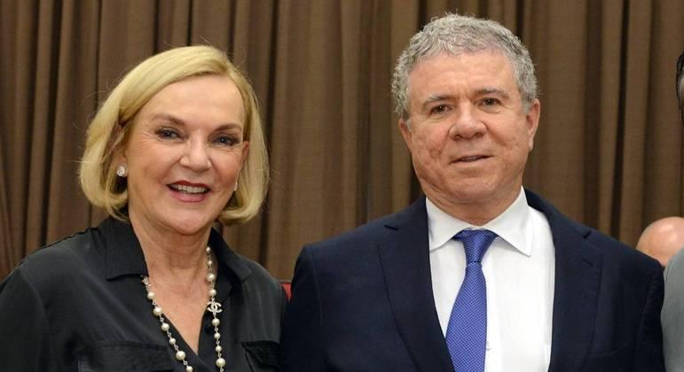 Celso Silveira Mello Filho e a mulher Maria Luiza morreram no acidente