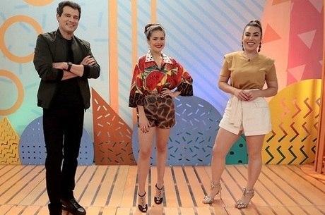 Maisa recebe Celso Portiolli e Naiara Azevedo no seu programa deste sábado