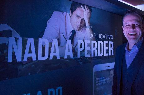Apresentador de TV Celso Zucatelli no evento