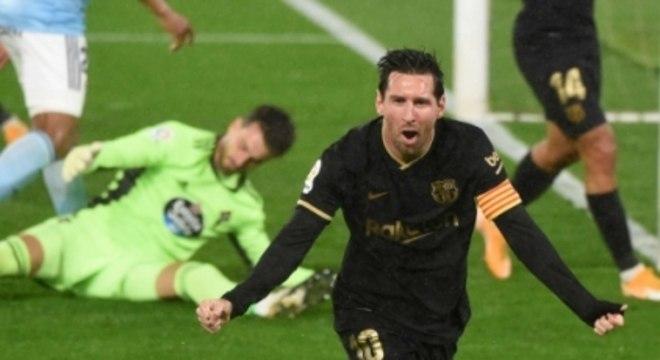 Celta de Vigo x Barcelona - Messi