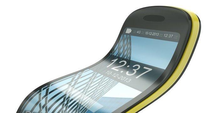 A fabricação de um celular flexível não está muito distante da realidade