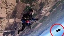 Celular de paraquedista cai de 3.500 m de altura e continua funcionando