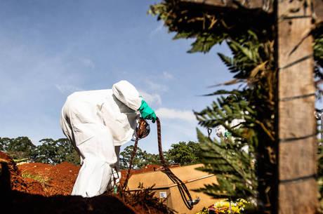 Brasil é o 2º país do mundo em nº de mortes por covid
