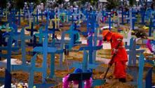 Brasil registra novo recorde de mortes diárias por covid: 2.340