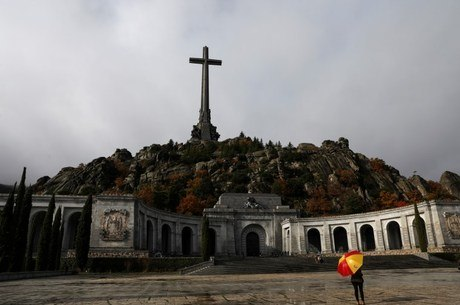 Vale dos Caídos, onde está o corpo de Franco