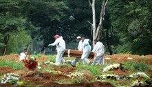 Covid: Brasil registra 2.922 mortes e 70.238 novos casos em 24 horas