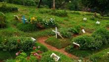 Sem espaço, Cemitério Vila Nova Cachoeirinha para de abrir túmulos