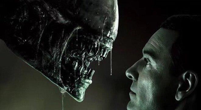 Cena do filme Alien