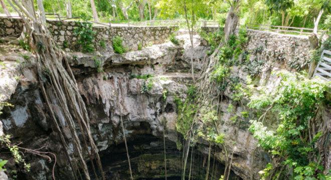Famosos cenotes mexicanos, depressões geológicas inundadas