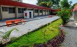 Nova estrutura do Centro de Ensino Fundamental Caseb