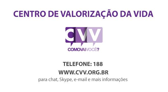 O CVV oferece apoio às pessoas com depressão e ideias suicidas