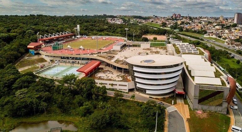 O esplêndido Centro Paralímpico de São Paulo