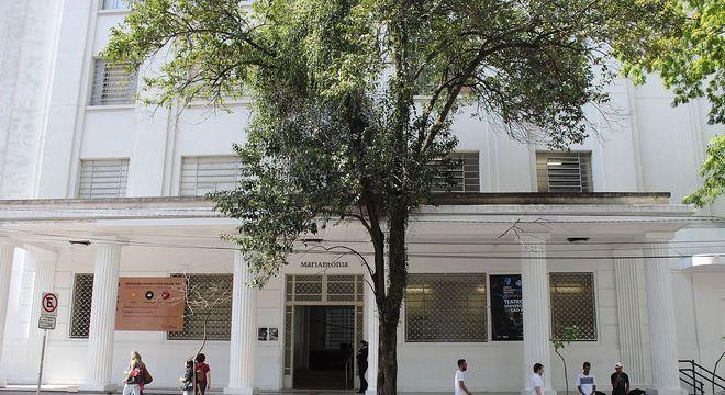 O emblemático Centro Universitário Maria Antônia, antiga sede da filosofia da USP