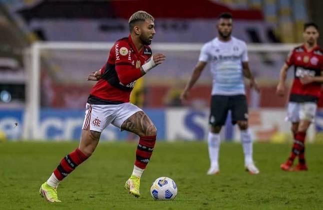 Centroavante: Gabigol (Flamengo) - 26 milhões de euros (R$ 163,8 milhões) / Rony (Palmeiras) - 9 milhões de euros (R$ 56,7 milhões).