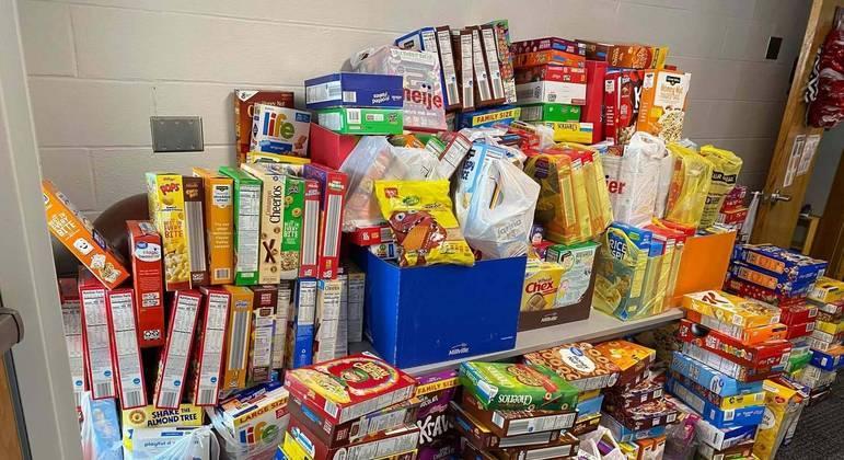 Mais de 600 caixas cereais serão doadas para os mais necessitados