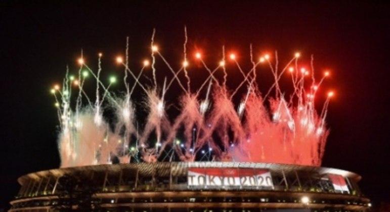 Cerimônia de encerramento da Olimpíada de Tóquio
