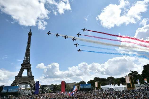 CERIMÔNIA DE ENCERRAMENTO - Festa em Paris. Até 2024!