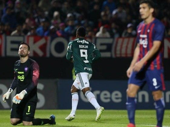 Cerro Porteño 0x2 Palmeiras - oitavas de final de 2019