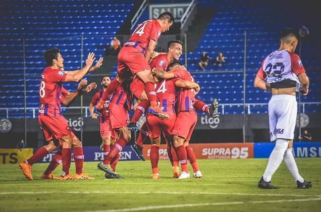 Cerro Porteño - pote 2 – segundo lugar no grupo H