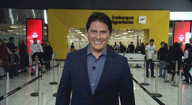 Cesar Filho mostra os bastidores do Aeroporto Internacional de São Paulo