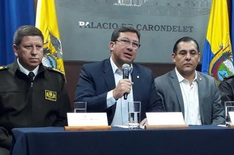 Ministro Navas fala sobre sequestro aos jornalistas