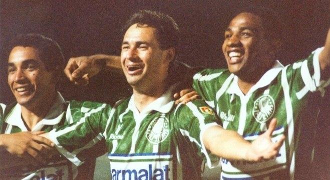 Junto com Zinho e Evair, Cesar Sampaio se tornou ídolo dos palmeirenses
