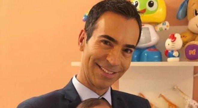 César Tralli postou uma linda foto com sua filha com Ticiane Pinheiro