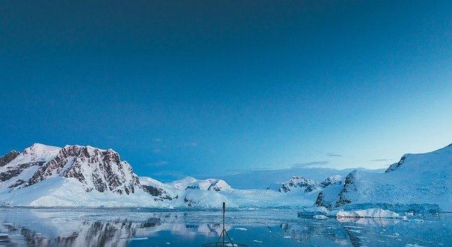 O céu da Antártida é potencialmente tão rico quanto o solo e a água.