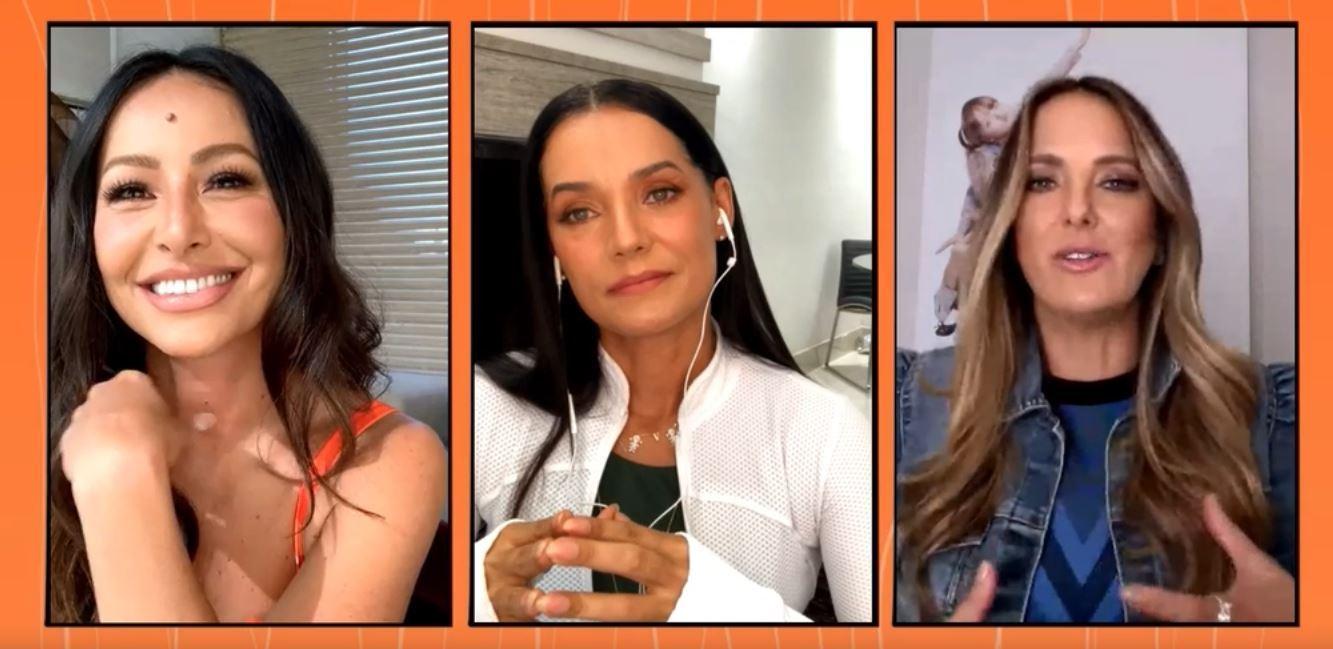 Sabrina, Mônica e Tici entregaram com naturalidade o conteúdo de marca da L'Óreal