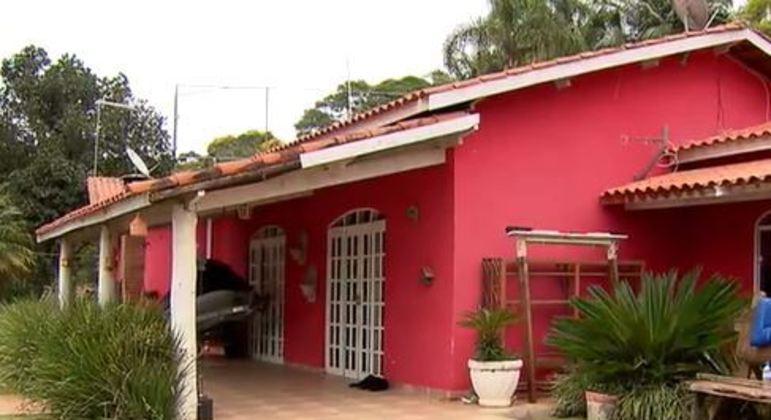 Chácara onde morava Rinaldo Magalhães, o Ninão