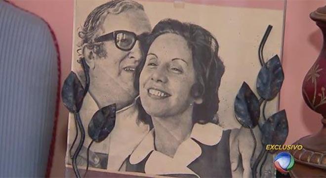 Florinda e Chacrinha tiveram três filhos durante casamento
