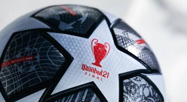 """A bola oficial da decisão da """"Champions"""""""