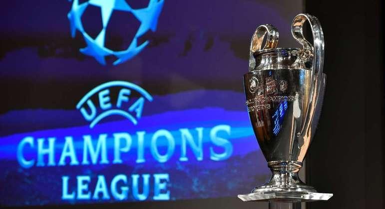 O belíssimo troféu da Champions