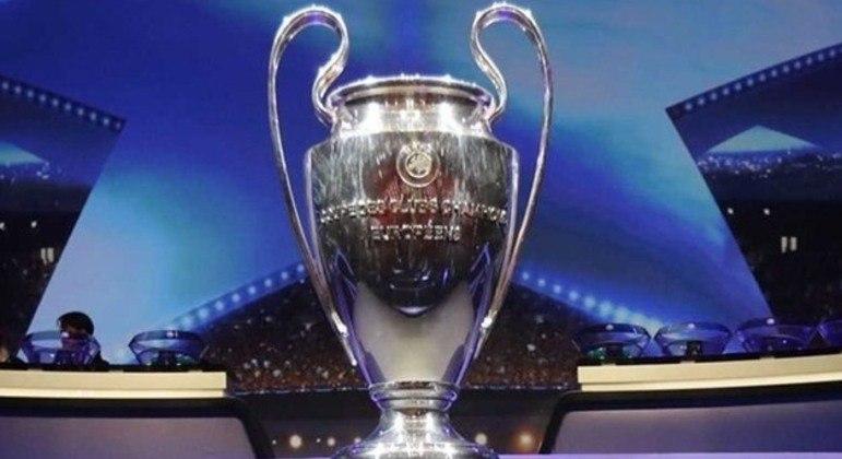 A belíssima taça da Champions League