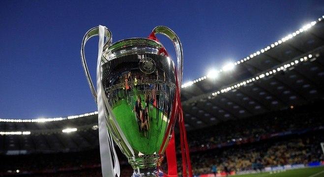 A taça da Champions