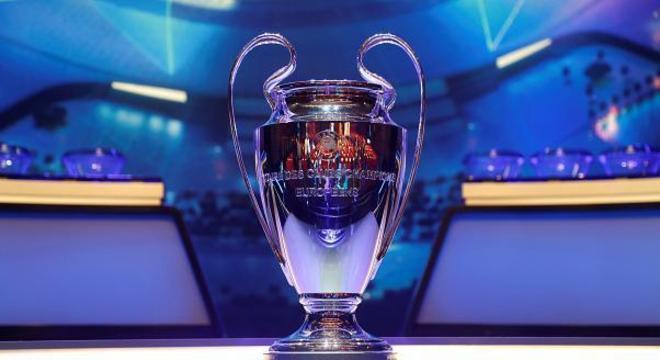 A lindíssima taça da Champions League
