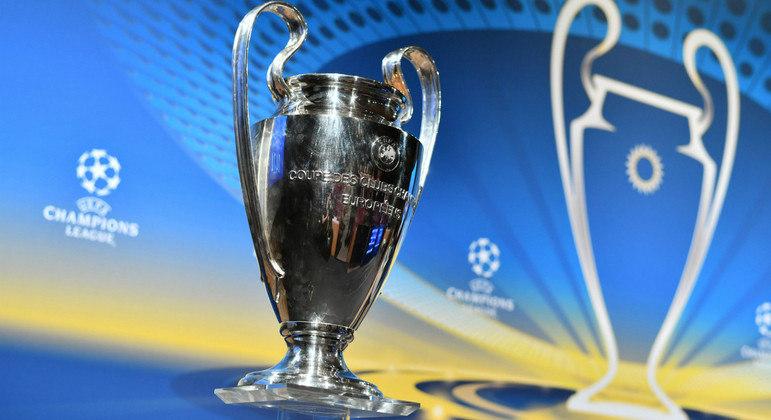 "O troféu da ""Champions League"""