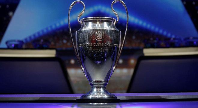 A taça da Champions League