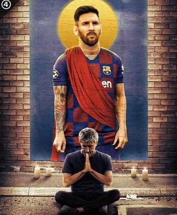 Champions League: Barcelona e Bayern de Munique garantem vaga nas quartas de final e internautas fazem memes