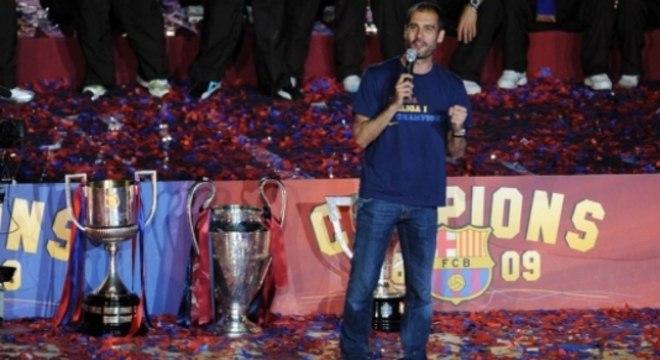 Guardiola é um militante à favor da Catalunha