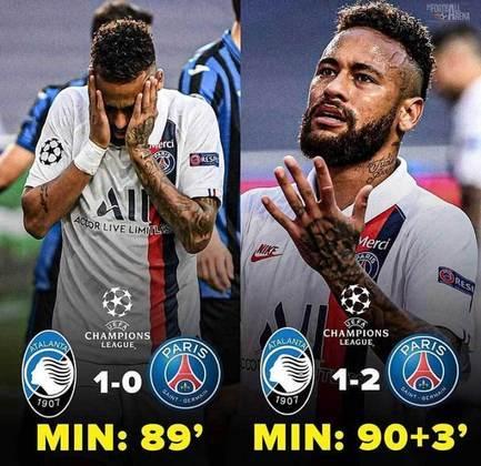 Champions League: classificação do PSG nos minutos finais rendeu memes nas redes sociais
