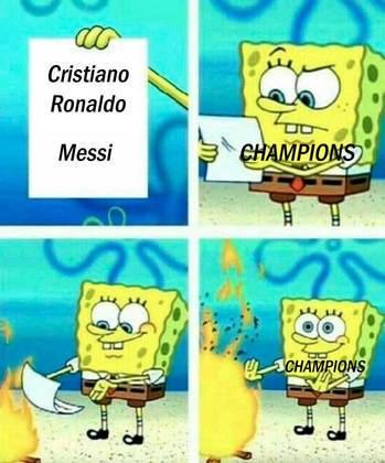 Champions League: eliminados nas oitavas de final, Cristiano Ronaldo e Messi viram piada na web