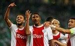 A atuação de Antony só não foi melhor que a de Haller. O francês marcou 4 gols na goleada do Ajax e Berghuis fez o quinto. Fernando descontou para o Sporting